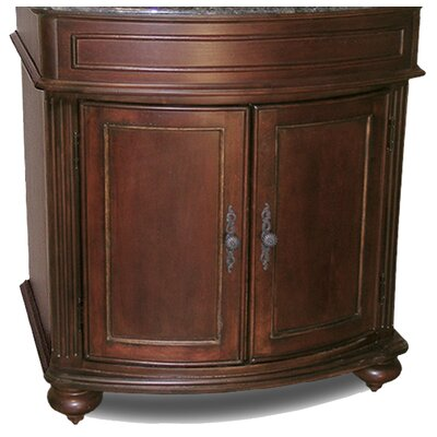 Arlington 30 Bathroom Vanity Base Base Finish: Distressed Cherry