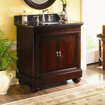 Mount Vernon 30 Single Bathroom Vanity Set Top Finish: Tan Brown