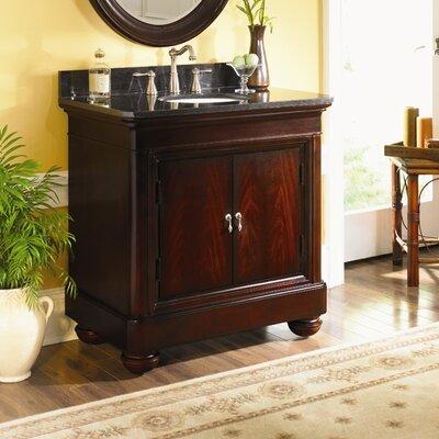 Mount Vernon 36 Single Bathroom Vanity Set Top Finish: Tan Brown