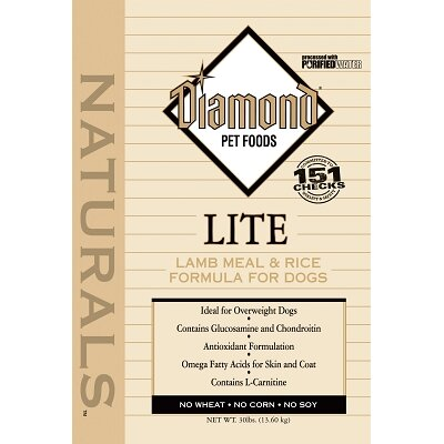 Diamond Naturals Lite Dry Dog Food 30lb