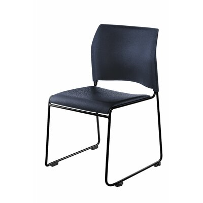 8700 Series Armless Office Guest Chair Seat Color: Blue