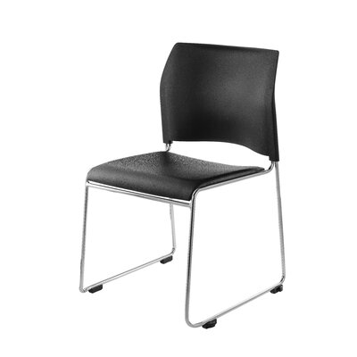 8700 Series Armless Office Guest Chair Seat Color: Black
