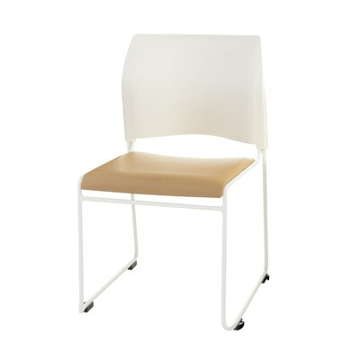 8700 Series Armless Office Guest Chair Seat Color: Beige