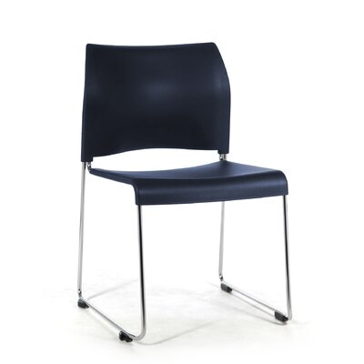 8800 Series Mid-Back Stacking Chair Color: Blue