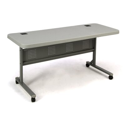 Flipper Training Table with Modesty Panel Size: 29.5 H x 60 W x 24 D