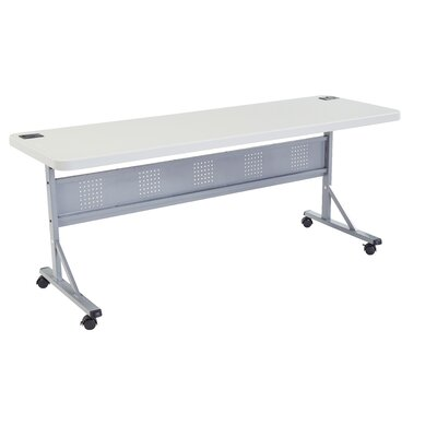 Flipper Training Table with Modesty Panel Size: 29.5 H x 72 W x 24 D