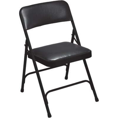 1200 Series Vinyl Upholstered Folding Chair (Set of 4) #1210