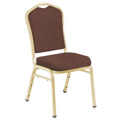 National Public Seating Series 9300 Silhouette Banquet Stacker - Seat Finish: Fabric-Burgundy, Frame Finish: Silvervein at Sears.com