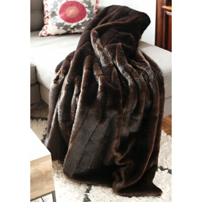 Limited Edition Series Throw Blanket Size: 60 L x 60 W, Color: Sable