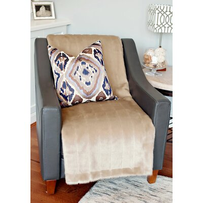 Limited Edition Series Throw Blanket Color: Vintage Mink, Size: 72 H x 60 W