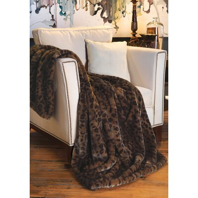 Couture Throw Blanket Size: 86 L x 60 W