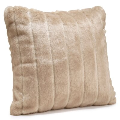 Signature Series Throw Pillow Color: Vintage Mink