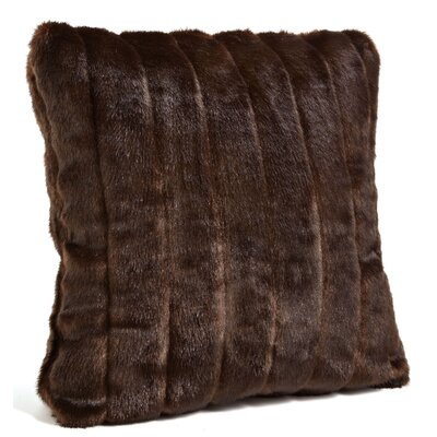 Signature Series Throw Pillow Color: Sable