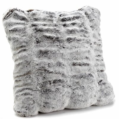 Couture Throw Pillow Size: 24 H x 24 W x 3 D, Color: Onyx Mink