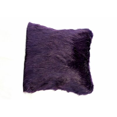Signature Series Throw Pillow Color: Amethyst Fox