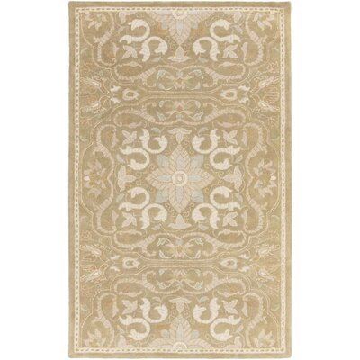 Smithsonian Hand-Tufted Brown/Neutral Area Rug Rug Size: Rectangle 5 x 8