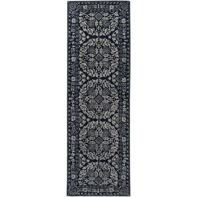 China Blue Area Rug Rug Size: Runner 2'6