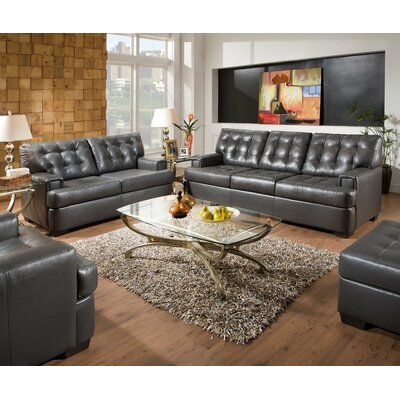 Simmons Upholstery 9590-03 Soho Living Room Collection