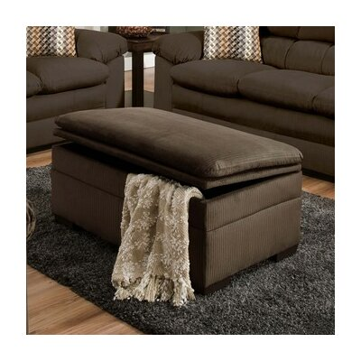 Britton Storage Ottoman by Simmons Upholstery