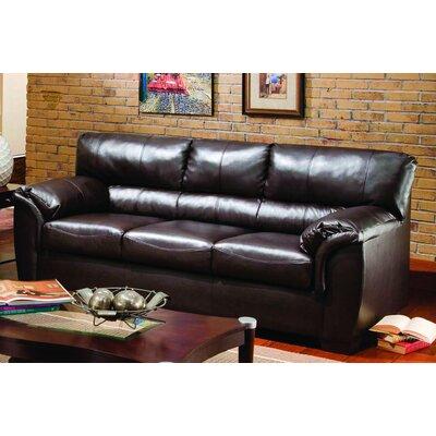 1797-04F London Walnut UFI2574 Simmons Upholstery London Full Sleeper Sofa
