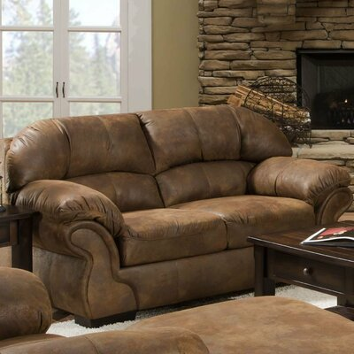 Simmons Upholstery 6270-02 Pinto Tobacco Pinto Loveseat