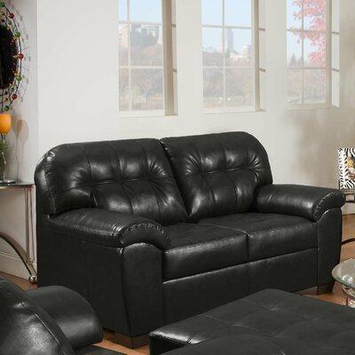 9569-02 Soho Onyx UFI2335 Simmons Upholstery Soho Loveseat