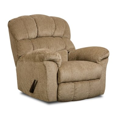 Este Manual Rocker Recliner by Simmons Upholstery Upholstery: Victor Sand