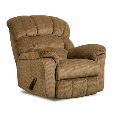 Victor Rocker Recliner Upholstery: Victor Amber