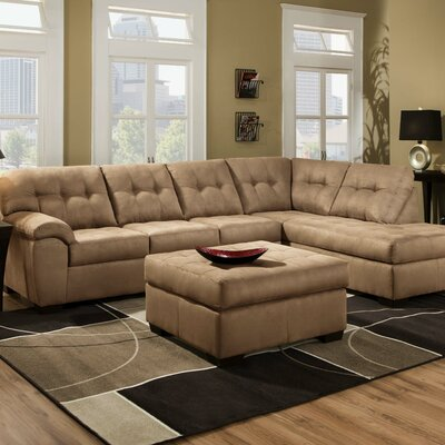 Simmons Upholstery UFI2744 Velocity Sectional