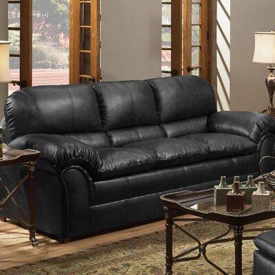 6152-03 Geneva Onyx UFI2640 Simmons Upholstery Geneva Sofa