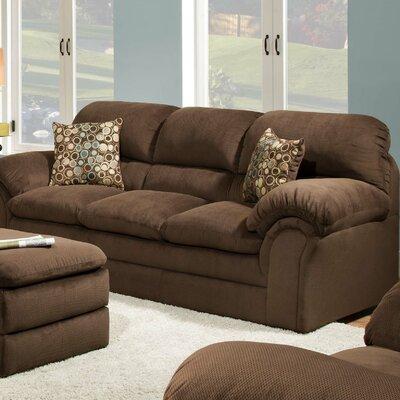 6150-03 Harper Umber UFI2573 Simmons Upholstery Harper Sofa