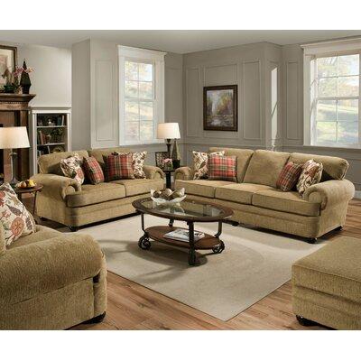 Simmons Upholstery 7530-03 Thunder Topaz Thunder Living Room Collection