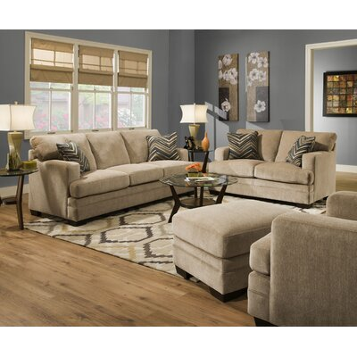 Simmons Upholstery UFI2852 Sassy Barley Sleeper Living Room Collection