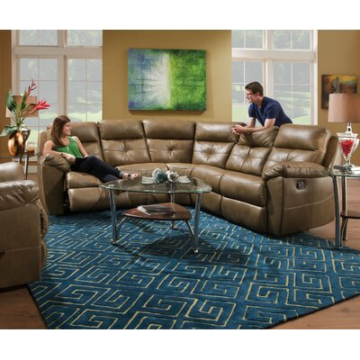 53200BR-55 Bradford Toast Simmons Upholstery Sectionals