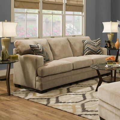 6491-04Q Sassy Barley UFI2843 Simmons Upholstery Sassy Barley Sleeper Sofa