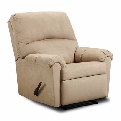 Victory Lane Rocker Recliner Upholstery: Taupe