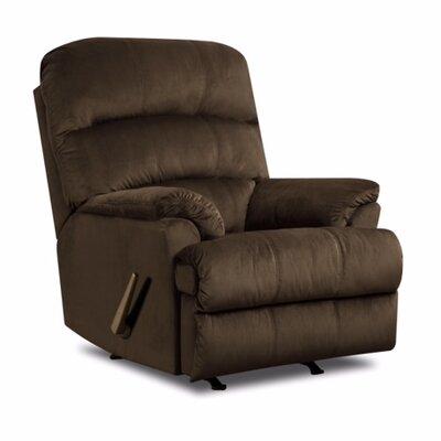 Hampton Rocker Recliner Upholstery: Umber