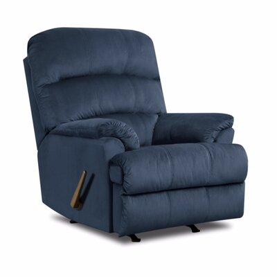 Hampton Rocker Recliner Upholstery: Marine