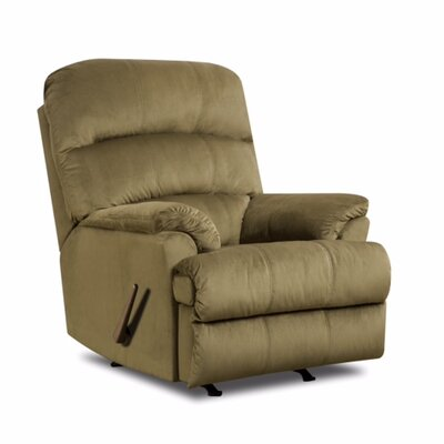 Hampton Rocker Recliner Upholstery: Army