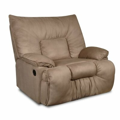 Cambarville Manual Recliner by Simmons Upholstery Upholstery: Tan