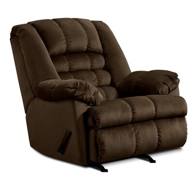 Cabela Manual Rocker Recliner by Simmons Upholstery Upholstery: Beluga