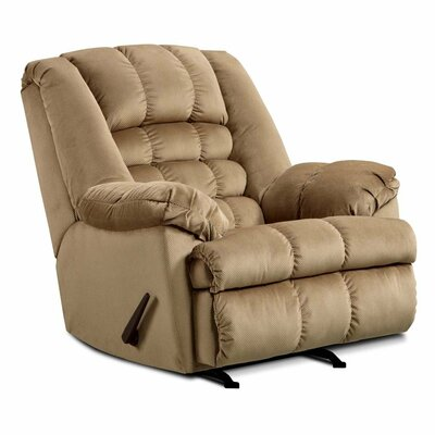 Cabela Manual Rocker Recliner by Simmons Upholstery Upholstery: Mink