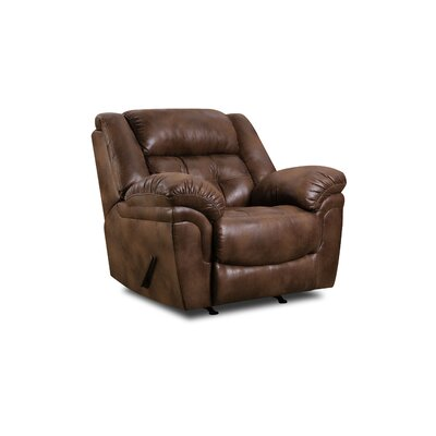 Ruffin Rocker Recliner by Simmons Upholstery Type: Manual