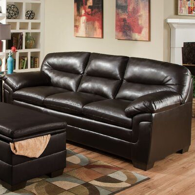 3615-03 Manhattan Espresso UFI2879 Simmons Upholstery Manhattan Sofa