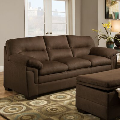 Simmons Upholstery 3615-03 Luna Chocolate Luna Sofa I