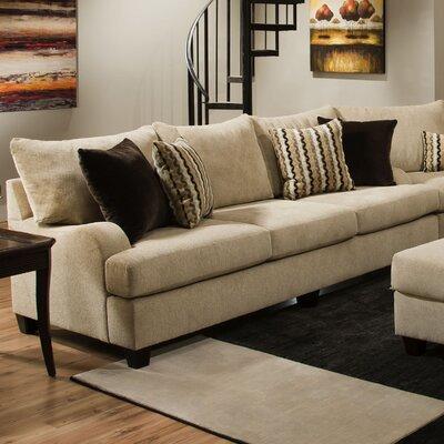 Simmons Upholstery 8520-03 Trinidad Taupe Trinidad Sofa