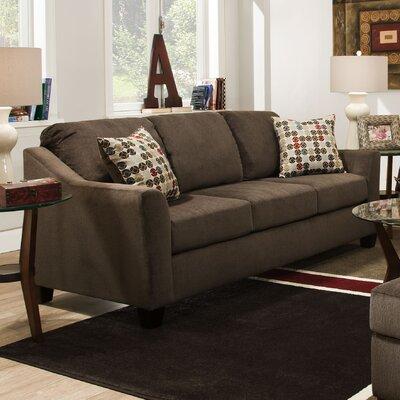4310-04QE Cicero Mink UFI2938 Simmons Upholstery Cicero Queen Sleeper