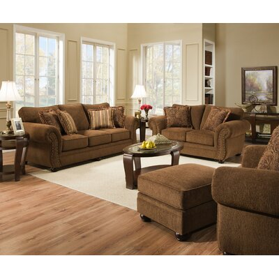 Simmons Upholstery 4277-03 Outback Chocolate Outback Living Room Collection