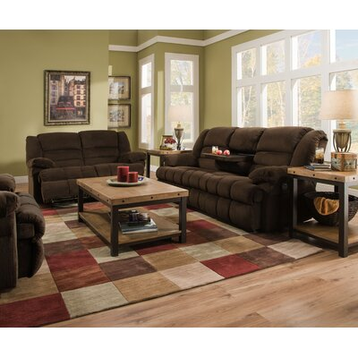 50412BR-62 Dynasty Chocolate Simmons Upholstery Living Room Sets