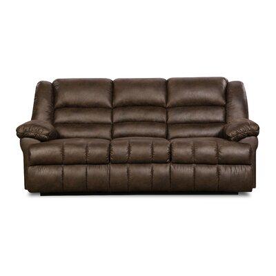 Simmons Upholstery 50412BR-62 Lattimer Cocoa Lattimer Double Motion Sofa